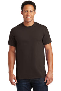 gildan ultra cotton t shirt 2000 dark chocolate