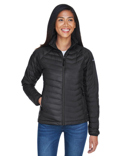 Columbia Black 1737001 promotional jackets company logo