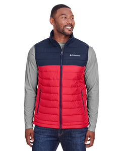 Columbia Powder Lite Vest Mtn Red/ Col Nvy