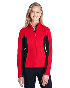 Spyder RED/ BLACK/ WHT 187335 jacket company logo