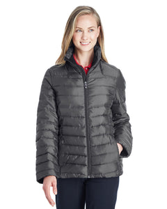 Spyder ladies Supreme Insulated Puffer Jacket Polar/ Alloy