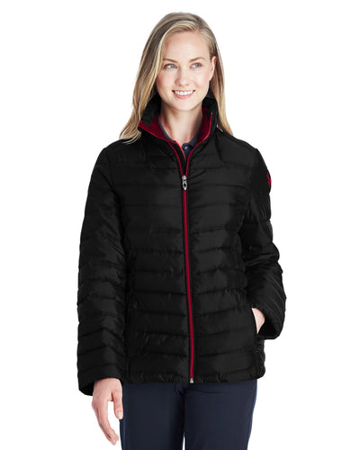 Spyder ladies Supreme Insulated Puffer Jacket Black/ Red