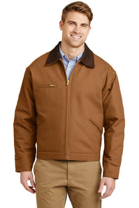 CornerStone Duck Brown J763  business jackets with logo
