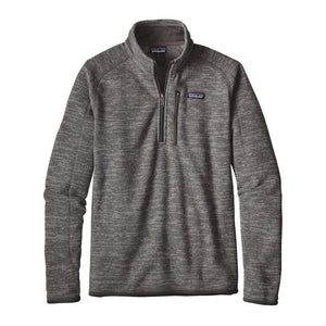 Patagonia Men's Better Sweater Quarter-Zip Fleece 25523 Nickel