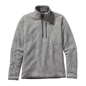Patagonia Men's Better Sweater Quarter-Zip Fleece 25523 Stonewash