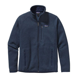 Patagonia Men's Better Sweater Fleece Jacket 25528 New Navy