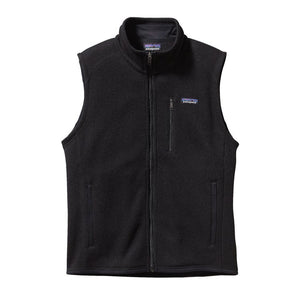 Patagonia Men's Better Sweater Fleece Vest 25882 Black