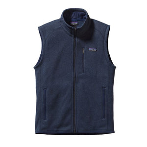 Patagonia Men's Better Sweater Fleece Vest 25882 New Navy