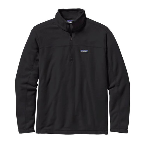 Patagonia Men's Micro D Fleece Pullover 26176 Black