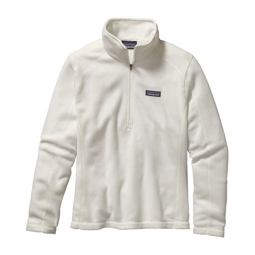 Patagonia Womens Micro D Quarter-Zip Fleece 26278 Birch White