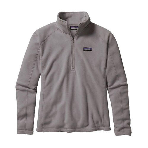 Patagonia Womens Micro D Quarter-Zip Fleece 26278 Feather Grey