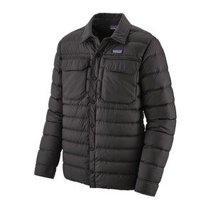 Patagonia Men's Silent Down Shirt Jacket 27925 Black