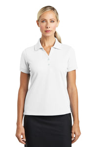 nike white 286772 polo shirts with embroidered custom logo