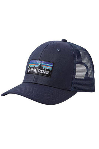 Patagonia Logo Trucker Hat 11955 Navy Blue