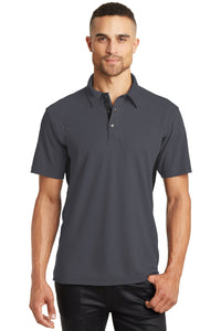 OGIO Diesel Grey/Blacktop OG102 polo shirts with custom logo