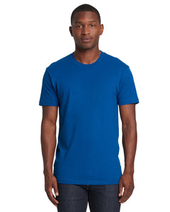 Next Level Mens Cotton Crew 3600 Cool Blue