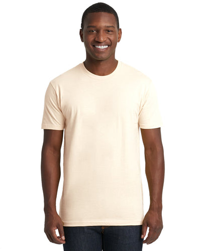 Next Level Mens Cotton Crew 3600 Natural