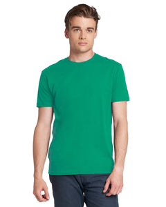 Next Level Mens Cotton Crew 3600 Kelly Green