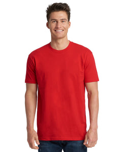 Next Level Mens Cotton Crew 3600 Red