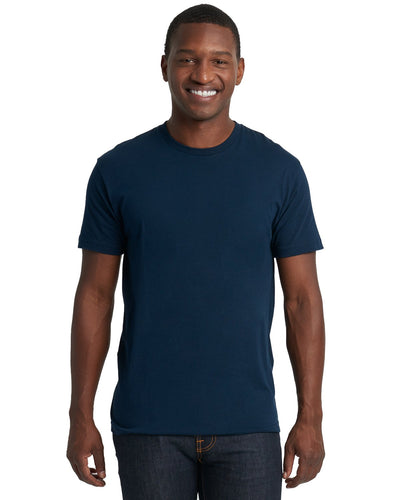Next Level Mens Cotton Crew 3600 Midnight Navy