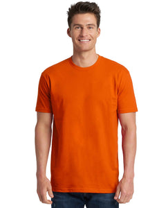 Next Level Mens Cotton Crew 3600 Classic Orange