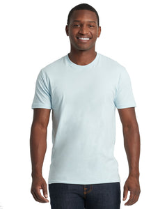 Next Level Mens Cotton Crew 3600 Light Blue