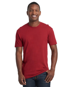 Next Level Mens Cotton Crew 3600 Cardinal