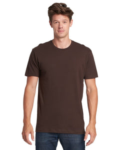 Next Level Mens Cotton Crew 3600 Dark Chocolate