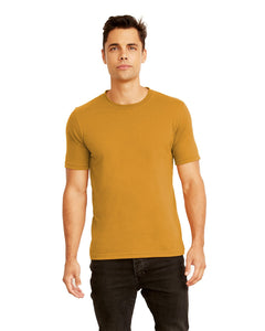 Next Level Mens Cotton Crew 3600 Antique Gold
