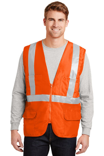 CornerStone Safety Orange CSV405 embroidered team jackets