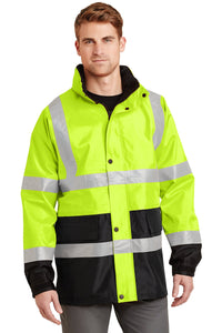 CornerStone Safety Yellow/ Black CSJ24  embroidered team jackets