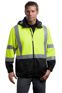 CornerStone Safety Yellow/Black CSJ25  embroidered team jackets