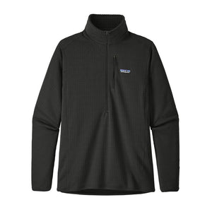 Patagonia Men's R1 Fleece Pullover 40110 Black