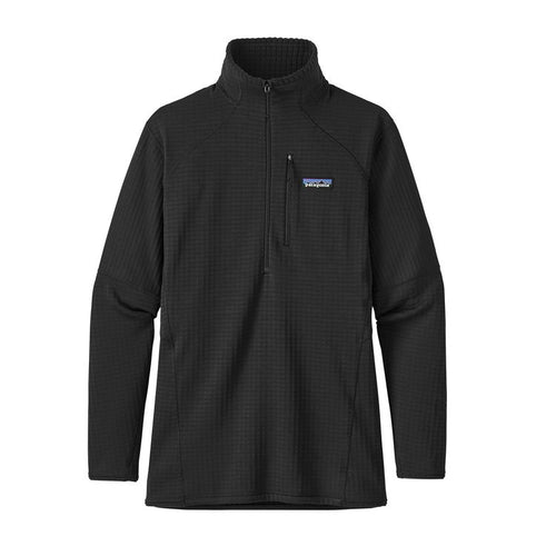 Patagonia Women's R1 Pullover 40119 Black