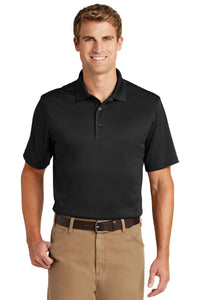 CornerStone Black CS412 company polo shirts embroidered