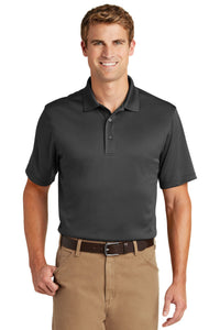 CornerStone Charcoal CS412 company polo shirts embroidered