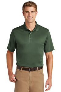 CornerStone Dark Green CS412 company polo shirts embroidered