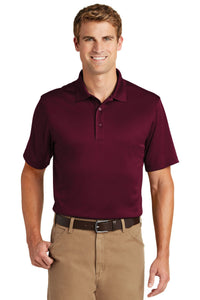 CornerStone Maroon CS412 company polo shirts embroidered