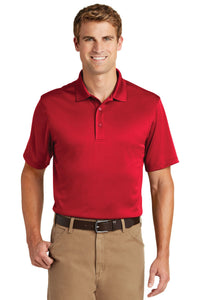 CornerStone Red CS412 company polo shirts embroidered