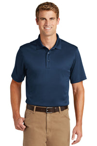 CornerStone Regatta Blue CS412 company polo shirts embroidered