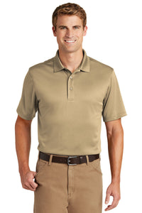 CornerStone Tan CS412 company polo shirts embroidered