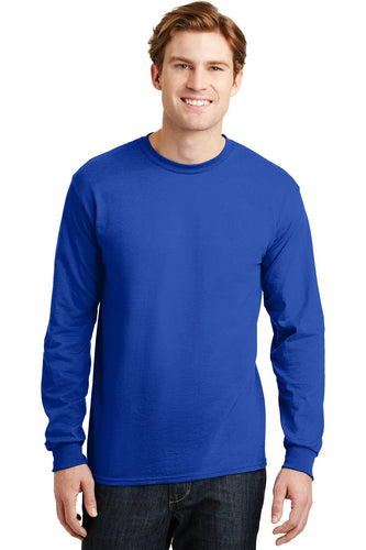 gildan dryblend cotton poly long sleeve t shirt 8400 royal