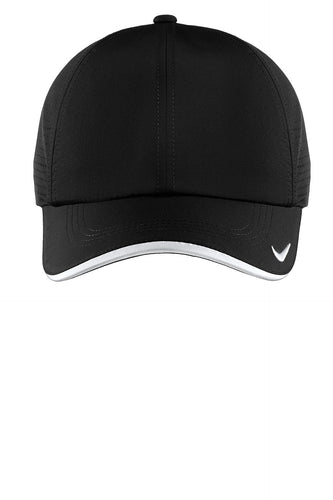 nike dri-fit swoosh perforated cap 429467 black