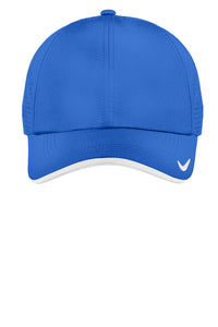 nike dri-fit swoosh perforated cap 429467 blue sapphire