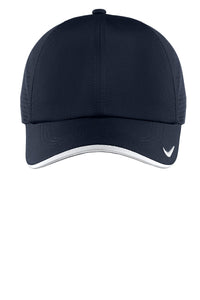 nike dri-fit swoosh perforated cap 429467 navy