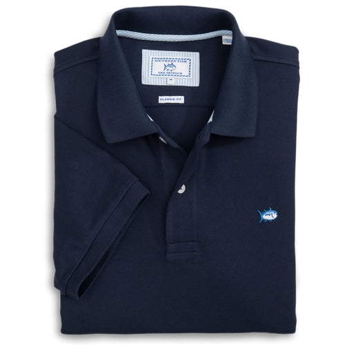 Southern Tide Men's Skipjack Polo 1507 True Navy