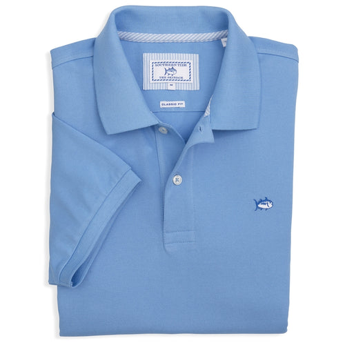 Southern Tide Men's Skipjack Polo 1507 Ocean Channel