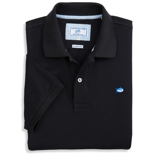 Southern Tide Men's Skipjack Polo 1507 Midnight Black
