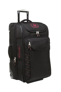 ogio canberra 26 travel bag 413006 black signal red