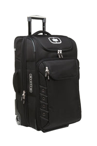 ogio canberra 26 travel bag 413006 black silver
